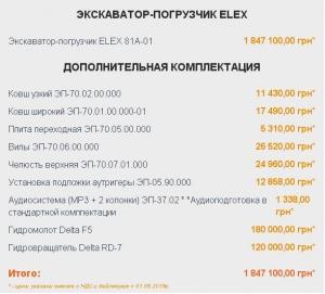 optsiji-dlya-ekskavatora-navantazhuvacha-elex